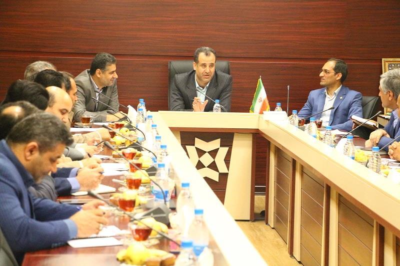 جلسه شورای مدیران شرکت غله و خدمات بازرگانی منطقه 2